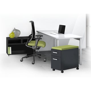 Mayline e5 Series E5K3 3-piece Typical Office Furniture Set