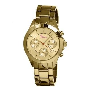 Boum Women's Baiser Goldtone Stainless Steel Analog Watch