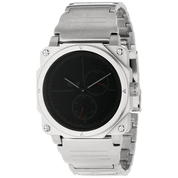 Kr3w Men's K1440S Vanquish Black Dial Watch