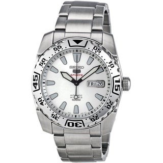 Seiko Men's SRP163K1 Stainless Steel Automatic Watch