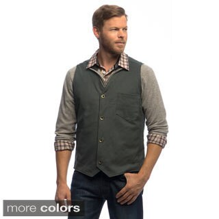 Stormy Kromer Men's 'Brushman' Cotton Canvas Vest