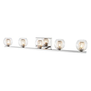 Z-Lite Agai Chrome 5-light Vanity