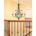 Z-Lite Cardinal Olde Bronze 9-light Chandelier