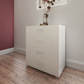 Austin Slender Wooden Four-drawer Chest