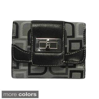 Vecceli Italy Novelty Pattern Tri-fold Wallet