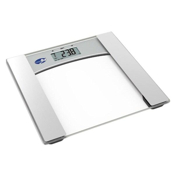 Uniquewear Sleek Body Weight and Hydration Digital Glass Scale