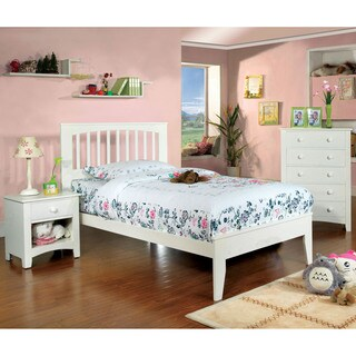 Furniture of America Martha Mission Style 3-piece Bedroom Set