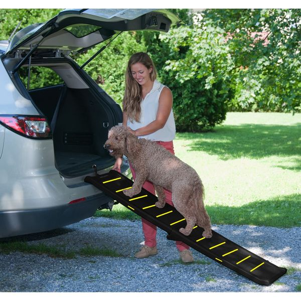 Pet Gear Travel Lite Reflective Bi-fold Pet Ramp
