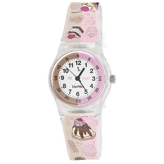 Lily Nily Kids' Plastic Cupcake Stainless Steel Watch