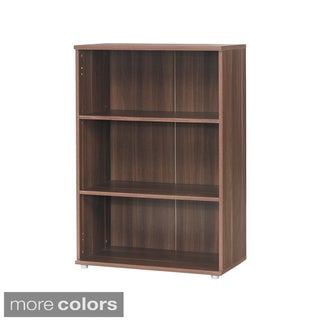 Cullen Contemporary Two-shelf Short Bookcase