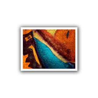Dean Uhlinger 'Retrograde' Unwrapped Canvas