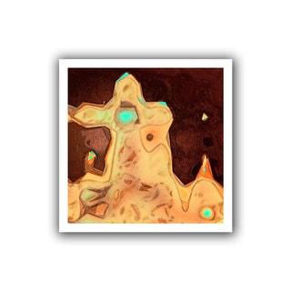 Dean Uhlinger 'Geo Motion' Unwrapped Canvas
