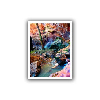 Dean Uhlinger 'Pine Creek Morning' Unwrapped Canvas