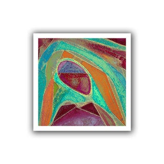 Dean Uhlinger 'Dirty Geometry' Unwrapped Canvas
