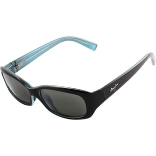Maui Jim Women's 'Punchbowl' Gloss Black Polarized Sunglasses