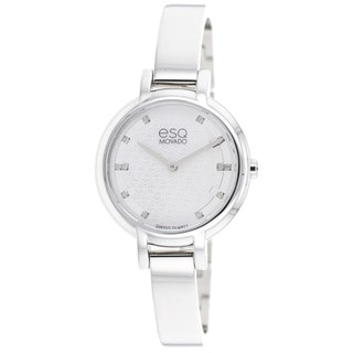 ESQ by Movado Women's 7101405 Contempo Silvertone Watch