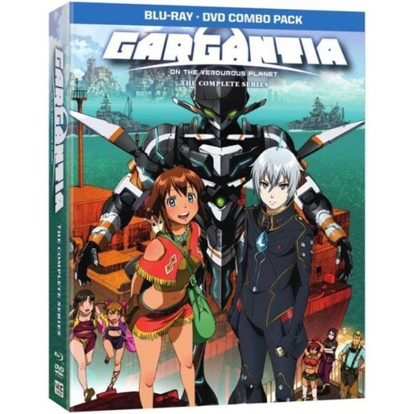 Gargantia: The Complete Series (Blu-ray/DVD) 13601413