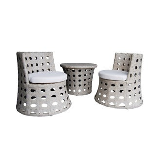Mini Happy Hour Wicker Stacking Set