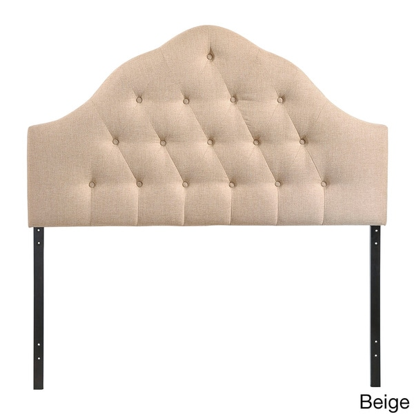 Sovereign Button-tufted High Arch Queen-size Headboard