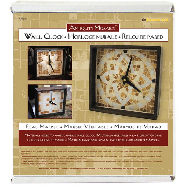 Antiquity Mosaics Clock Kit