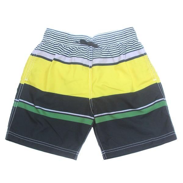 Azul Swimwear Boys 'Block Party' Colorblocked Swim Shorts