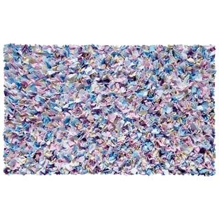 Shaggy Raggy Multicolor Cotton Jersey Rug (4'7x7'7)
