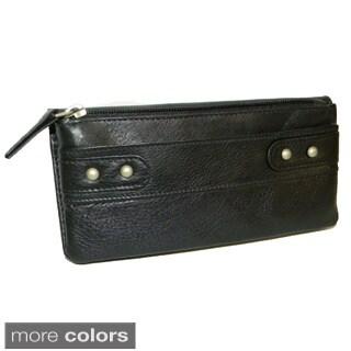 Paul & Taylor Women's Leather Clutch