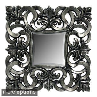 Contemporary Scroll Decorative Mirror