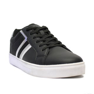 Sean John Men's 'Capri' Ballistic Black Leather Sneakers