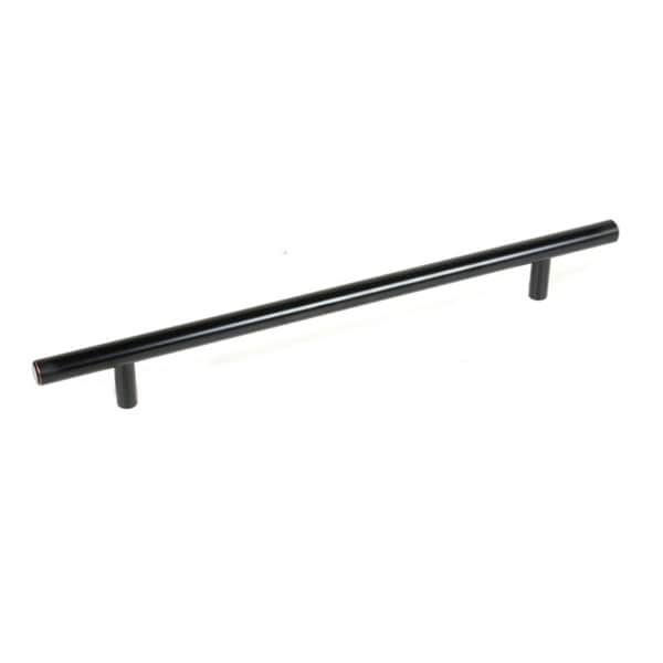Solid Oil Rubbed Bronze Cabinet 12-inch Bar Pull Handles (Case of 15)
