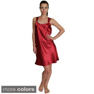 NDK New York Lingerie Women's Satin Chemise