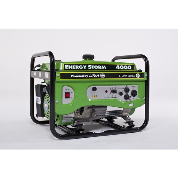 Gas Powered 4000-watt 7hp Portable Generator