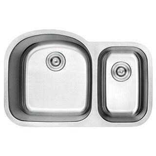 Lottare 900107 Lottitan Double Bowl Stainless Steel Kitchen Sink