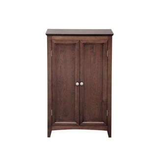 Solid Wood Double Door Media Storage