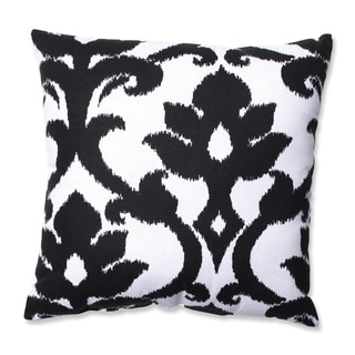 Pillow Perfect Azzure Black Throw Pillow