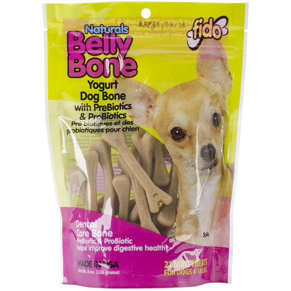 Belly Bones Treats 8oz Bag-Mini