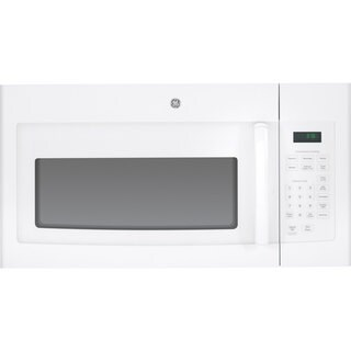 GE White Over-the-range 30-inch Microwave