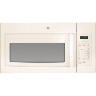 GE Bisque Over-the-range 30-inch Microwave