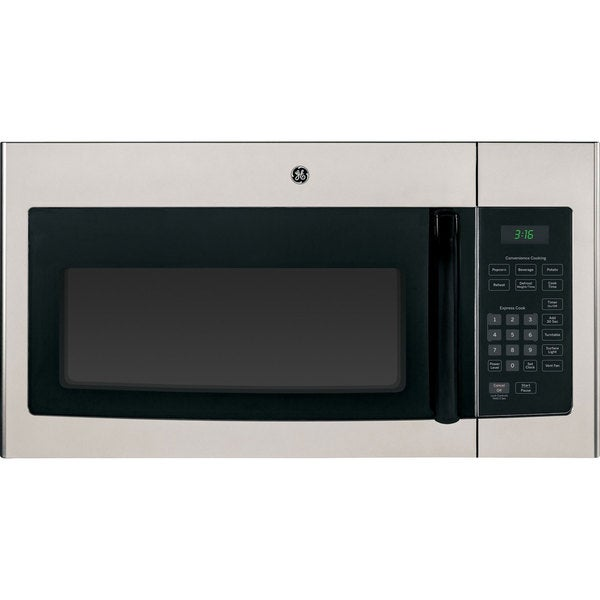GE Silver Over-the-Range 30-inch Microwave Oven