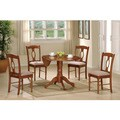 Niksar Medium Oak Finished Classic Styled 5-piece Dining Set