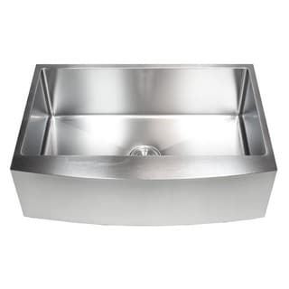 Stainless Steel Single Bowl 16-gauge Farmer Kitchen Sink