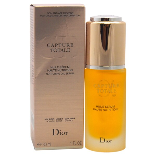 Dior Capture Totale Anti-age 1-ounce Nurturing Oil Serum