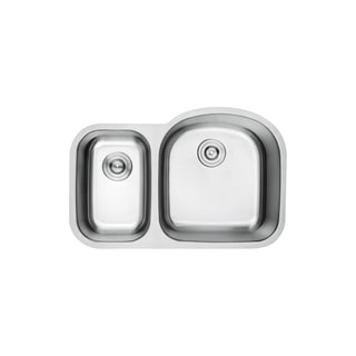 Lottare 900108 Lottitan Double Bowl Stainless Steel Kitchen Sink