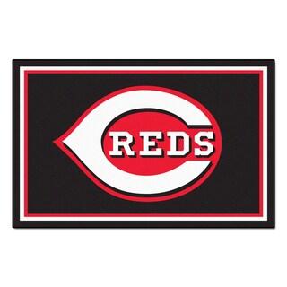 Fanmats Cincinnati Reds Area Rug (5' x 8')