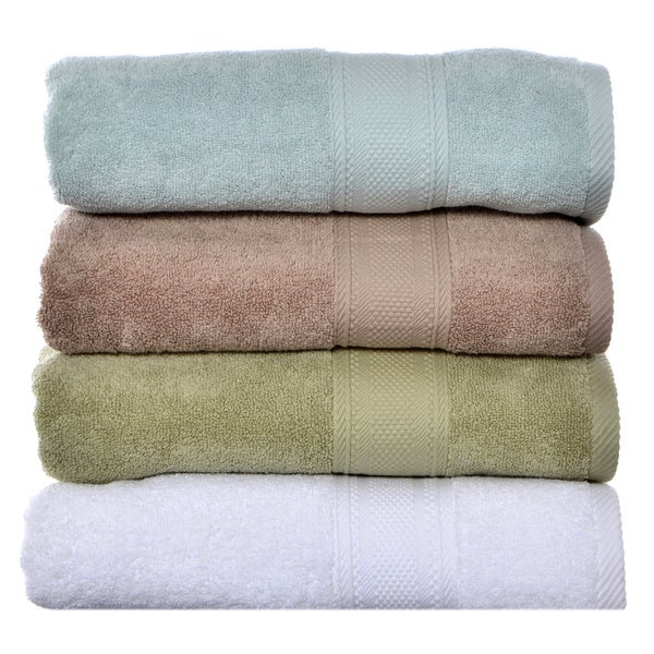 Laura Ashley Leyton Zero Twist Bath Towel (Set of 2)