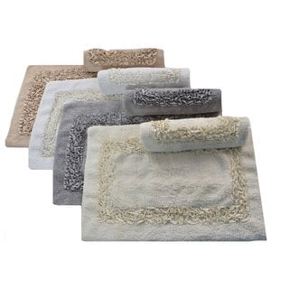 Laura Ashley Ribbon 2-piece Bath Rug Set