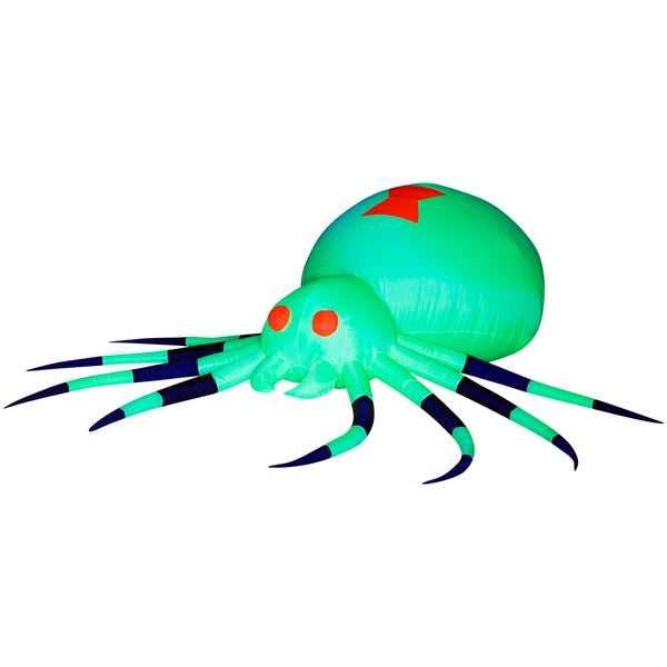 Inflatable Green Spider