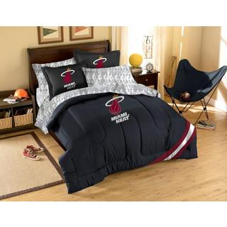 NBA Miami Heat 7-piece Full Bed in a Bag Set
