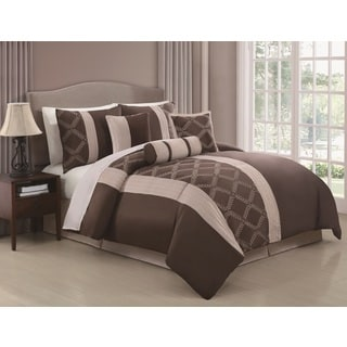 Julius 7-piece Embroidered Comforter Set