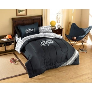 NBA San Antonio Spurs 7-piece Bed in a Bag Set